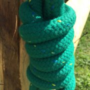 Idolo Solid Coloured Horse Lead Rope & Clip