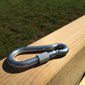 Idolo Lockable Carabiner Clip